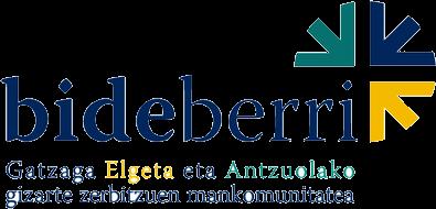 Logo entidad BIDEBERRI MANKOMUNITATEA
