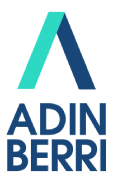 Logo entidad ADINBERRI FUNDAZIOA